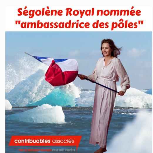 segolene royal ambassadrice poles argent public 6BDYdPFL
