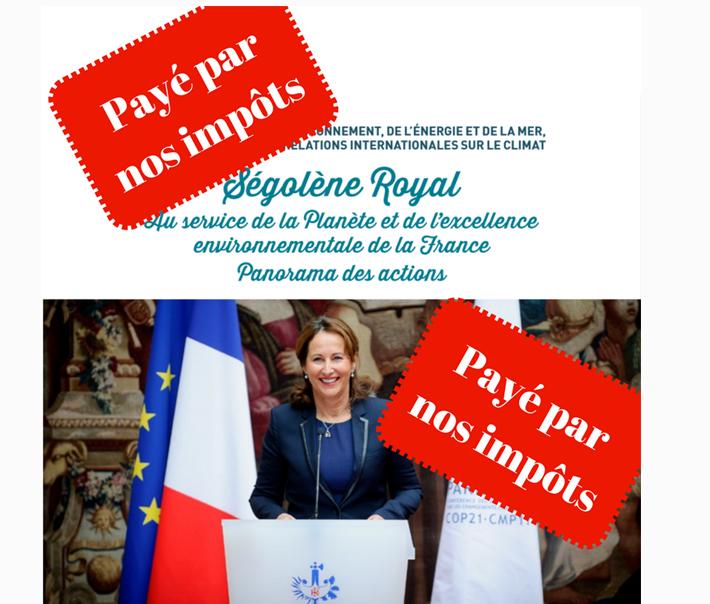 segolene royal brochure argent public