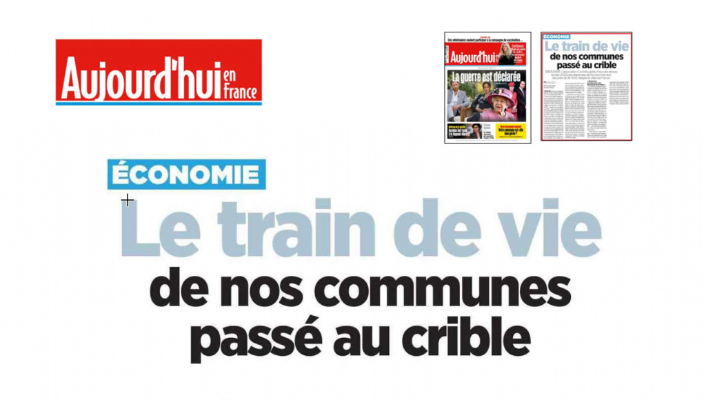 Dossier spécial <i>Aujourd'hui en France</i> – 09.03.21