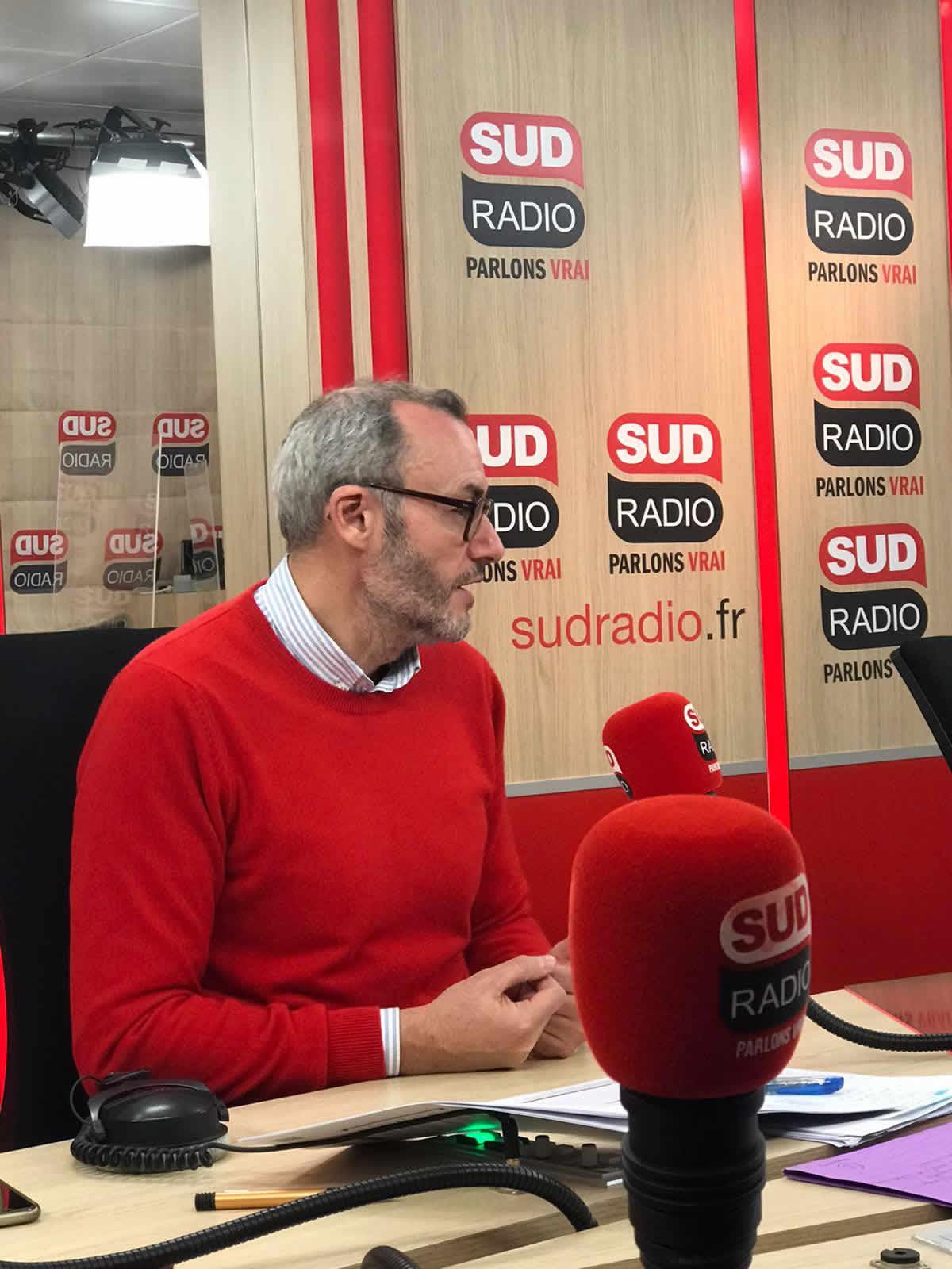 <h2>Eudes Baufreton sur Sud Radio - «La dette publique : une bombe à retardement»</h2>