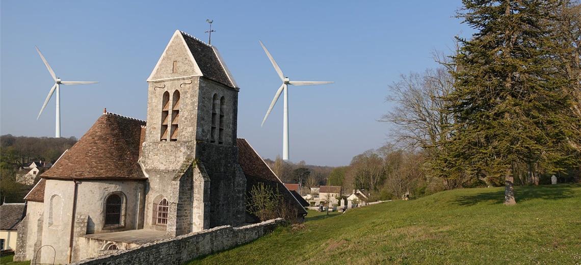 A Faÿ-lès-Nemours dans le Gâtinais : élus et habitants mobilisés contre un projet d'éoliennes