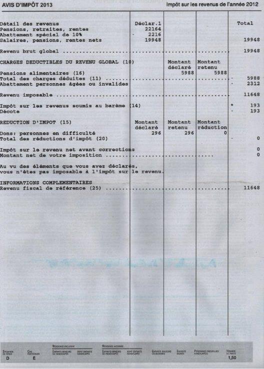 impots revenus 2012 001