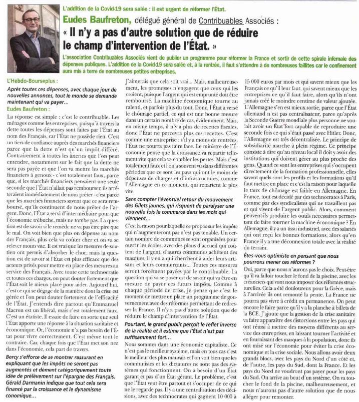 Eudes Baufreton Hebdo Bourse Plus mai 2020 1 hebdo bourse plus mai 2020
