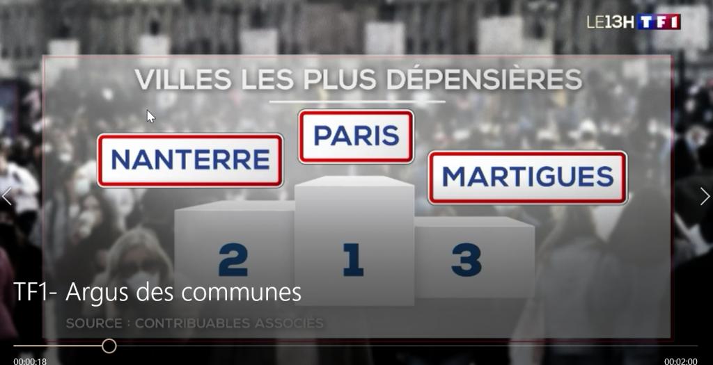 Notre Argus des Communes sur TF1 - 13h