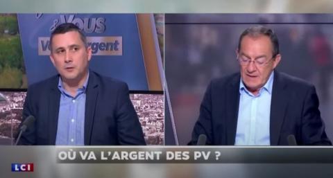 Où va l'argent des PV ? Contribuables Associés sur le plateau de Jean-Pierre Pernaut