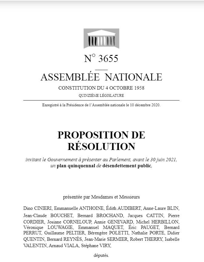 ppr desendettement public