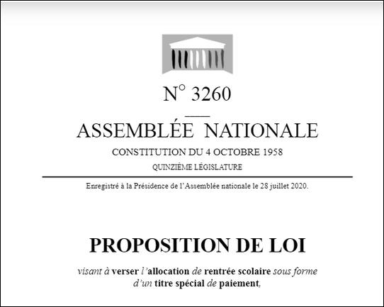 proposition loi ARS pierre cordier