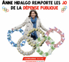 Anne Hidalgo arrose les associations à Paris