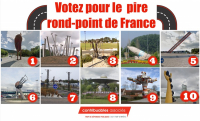 [Votez] Les 10 ronds-points les pires de France